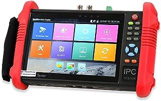 YBLNTEK CCTV Tester 7 pollici IPS Touch Screen IP Camera Tester Telecamera analogica Test IP Discovery Rapido ONVIF PoE WiFi Ping Test PTZ 1080P H.265 IPC-9800 Plus Aggiornamento