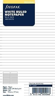Filofax Ruled White (100 Pack) (B133047)