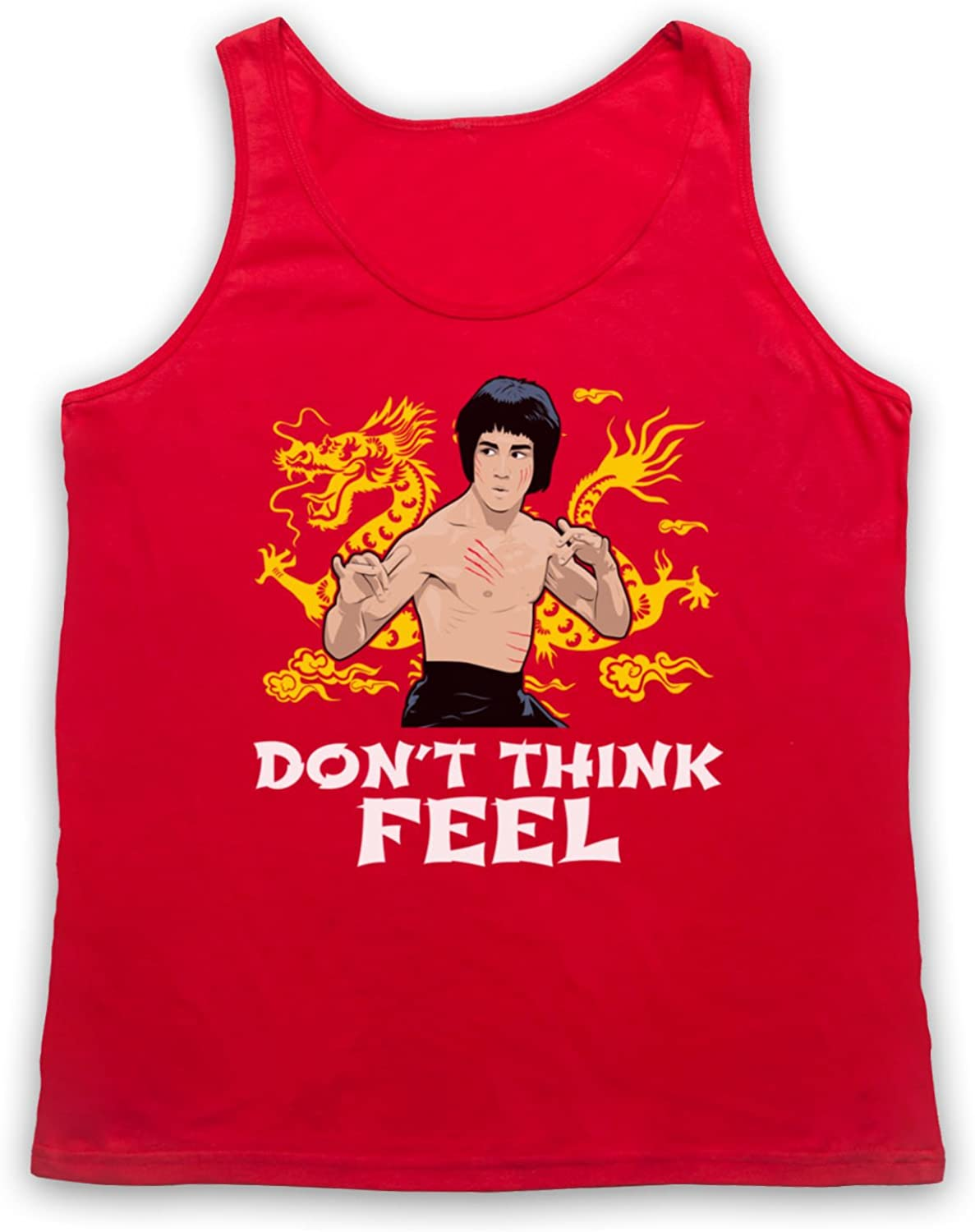 Bruce Lee Dont Think Feel Tank-Top Weste