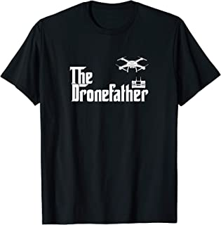 The Drone Father Funny Drone Pilot Dad Gift Tシャツ