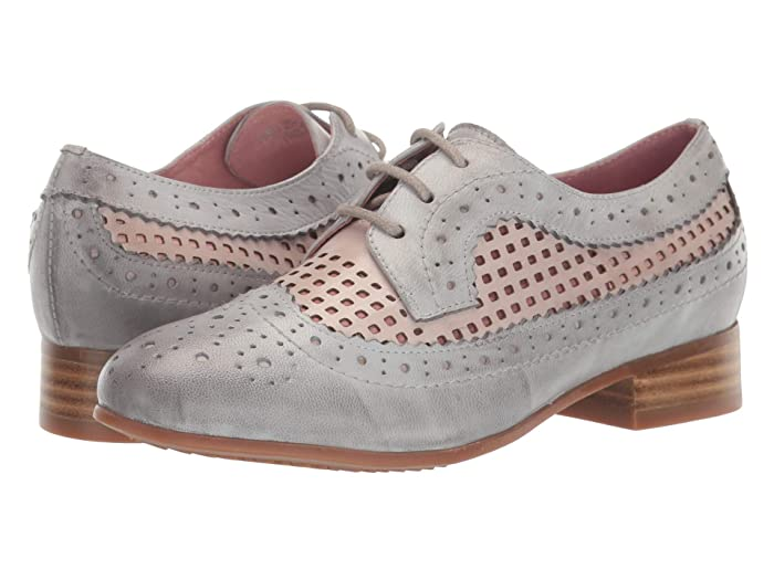 Retro Vintage Flats and Low Heel Shoes Spring Step Empower Grey Multi Womens Shoes $89.95 AT vintagedancer.com