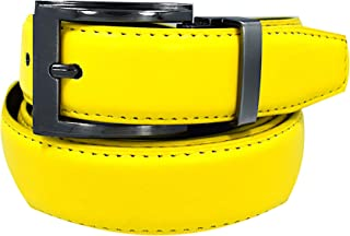 Men's Solid Leather Belts -20 Colors Available