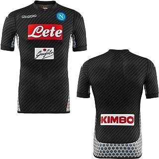 Kappa 2017-2018 Napoli Authentic 4th Football Soccer T-Shirt Camiseta