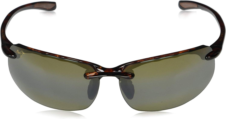 Maui Jim Banyans Asian Fit Rectangular Sunglasses