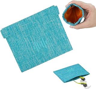 Geekria, custodia morbida elastica in poliuretano per auricolari, borsa per il trasporto delle cuffie, custodia universale...