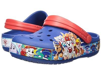 Crocs Kids Fun Lab Paw Patroltm Band Clog (Toddler/Little Kid) (Blue Jean) Boys Shoes