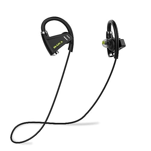 be2061edf43 Bluetooth Headphones, BARA E3 Wireless Earphones with CVC6.0 Noise  Cancelling Mic and CSR