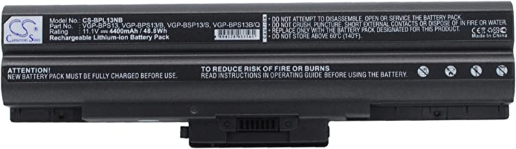 Replacement Battery for Sony VAIO, VAIO VGN-SR290JTJ, VAIO VGN-TX36C/B, VAIO VGN-TX56C/B, VAIO VGN-AW230J/H, VAIO VGN-AW235J/B