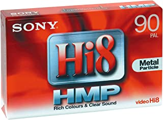 Sony P590HMP - Cinta Hi-8 Virgen para videocámara (8 mm 90 min)