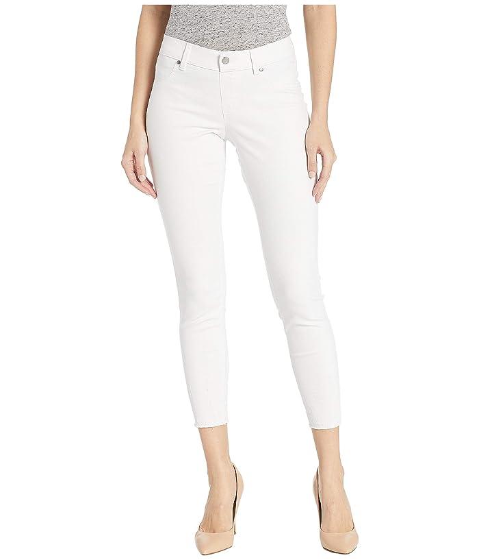HUE Ultra Soft Denim Skimmer Leggings (White) Women