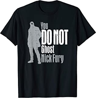 Marvel Spider-Man: Far From Home Nick Fury T-Shirt