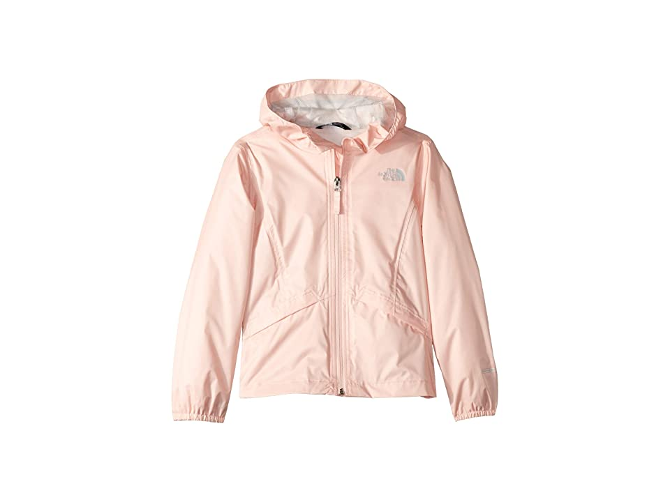 The North Face Kids Zipline Rain Jacket (Little Kids/Big Kids) (Pink Salt) Girl
