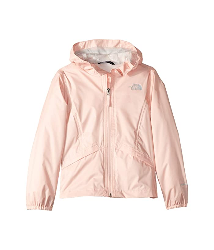 The North Face Kids Zipline Rain Jacket (Little Kids/Big Kids) (Pink Salt) Girl's Coat