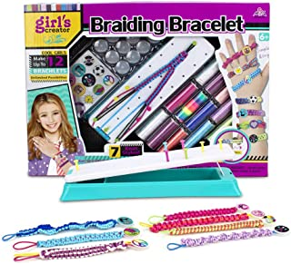 Gili Friendship Bracelet Kit, Arts and Crafts Maker Toy for Girls Christmas Birthday Gifts Ages 6yr-12yr, Best Bracelet Making String Sets for 7, 8, 9, 10, 11 Year Old Kids Travel Activities