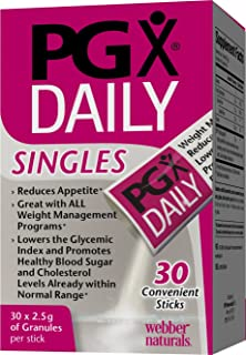 PGX Daily Singles Diet Supplement, 2.5 g, 30 Count