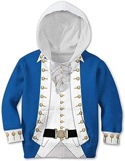 Kids Alexander Hamilton Hoodie Costume 3D Print George Washington Kids Costume Historical Figure Colonial Costume