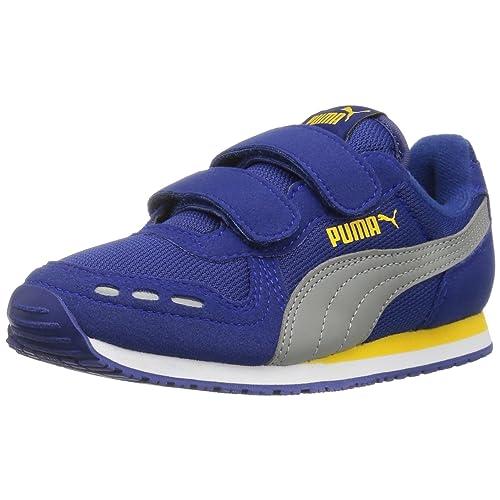 43e082459d6 PUMA Cabana Racer Mesh V Kids Shoe (Toddler/ Little Kid/ Big Kid)