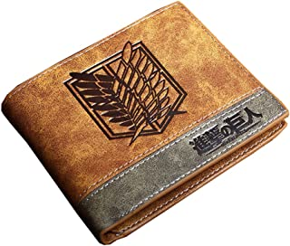 Attack on Titan Multi-Card Compact Center Flip Bifold Wallet
