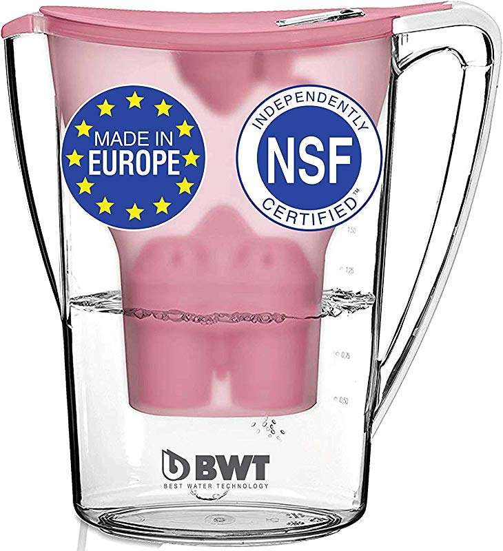 BWT Award Winning Austrian Quality Water Filter Pitcher Patented Magnesium Technology For Superior Filtration And Taste