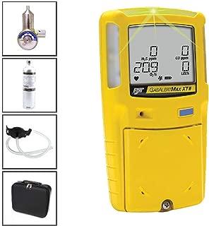 BW GasAlertMax XT 4-Gas + REG-DF-1 BW Demand Flow Regulator + CG-Q34-4 BW Quad Gas Cylinder (34L)