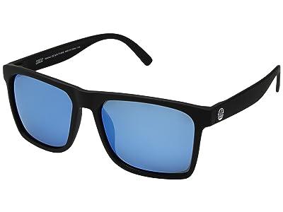 Sunski Taravals Sport Collection (Black/Aqua) Sport Sunglasses