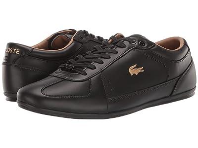 Lacoste Evara Premium 319 1 US (Black/Black) Men