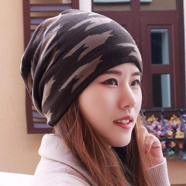 Chuiqingnet Hat men and women winter thick warm outdoor winter knitting hat riding older ear Baotou Cap