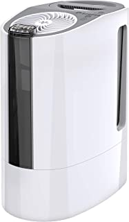 Vornado UH100 Ultrasonic Cool Mist Humidifier with Fan-Assisted Whole Room Humidification, Auto Humidity Control, Easy View 1 Gallon Water Tank, White