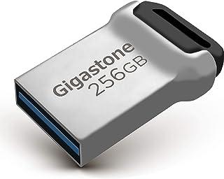 Gigastone Z90 256GB USBメモリ USB3.1 メモリスティック 小型 メタリック フラッシュドライブ