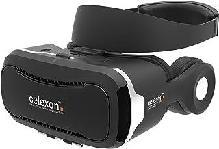 celexon VR glasögon VRG-3, version 2017, 3D Virtual Reality headset med hifi-hörlurar, smarttelefoner från 3,5 tum till 5,...