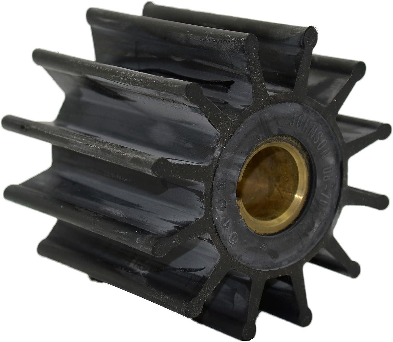Johnson Pumps 09704BT1 Impeller Replacement Kit for 17000K Sherwood 189580001 Jabsco