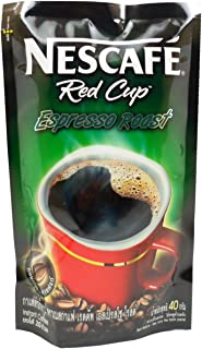 Nescafé Red Cup Espresso Roast Instant Pure Coffee 100% Aroma Robusta Net Wt 40 G (1.41 0z) X 1 Bag