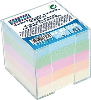 92/X 92/X 82/mm colori assortiti DANUBIO 7491001/ /99/vibrazione//Zettelbox//Foglietti