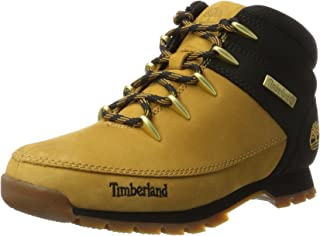 Mens Timberland Euro Sprint Wheat Hiking Leather Walking Ankle Boots