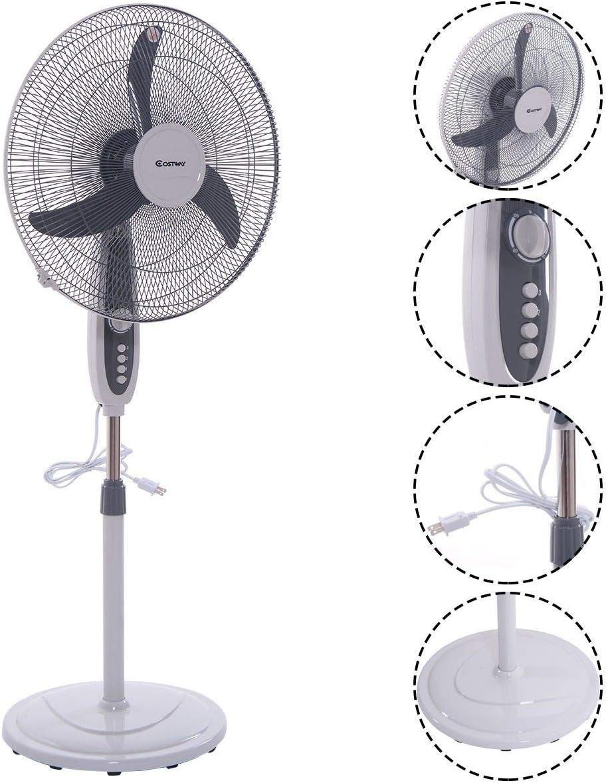 WWX Ranking TOP2 18 Inch 3 Speed Power Adjustable Standing Fan Pedestal Stand Popular brand