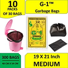 G1 Garbage Bags Medium Size 19 X 21 Inch 300 Pieces