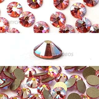 1,440 pcs Light Rose AB (223 AB) Swarovski 2058 Xilion / NEW 2088 Xirius 20ss Flat backs Rhinestones 5mm ss20