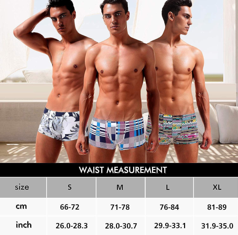 Arjen Kroos Men's Sexy Short Leg Boxer Briefs Silky Underwear
