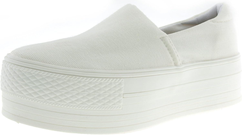 Maxstar CO3-50 Spandex 5cm Platform Slip-Ons shoes