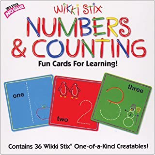 WikkiStix Numbers Cards Set