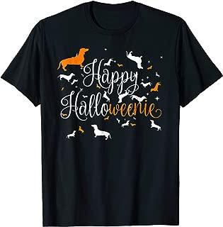 Happy Halloweenie Dachshund Shirt