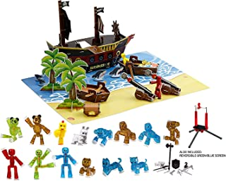 Zing Stikbot Movie Set Deluxe- Pirate Set Action Figure