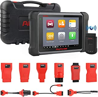 Autel Maxisys MS906BT Automotive Diagnostic Tool OE-Level,ECU Coding Capability,22 Service Including Oil Reset Service,TPMS,EPB,ABS/SRS,SAS,DPF Regeneration,1 Year Software Online Updates