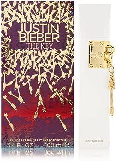 Justin Bieber Key Eau de Parfum Spray, 3.4 Ounce