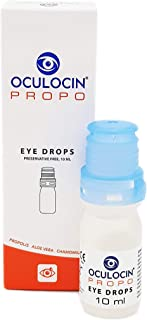 Oculocin Propo 10ml Eye Drops Value Pack Preservative Free Soothing Refreshing Solution for Irritated Dry Eyes Lubricating...