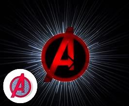 3DLightFX Plastic and Metal Avengers Logo (23.08 cm x 7.89 cm x 24.99 cm)