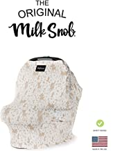 Disney Collection The Original Milk Snob Infant Car Seat Cover and Nursing Cover Multi-Use 360° Coverage Breathable Stretchy