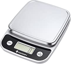 IDAODAN Smart Food Scale with Perfect Portions Nutritional Facts Display, Digital Nutrition Kitchen Scale - Accurate Food and Nutrient Calculator, Pursue a Healthier You Version 2 Black for Kitchen Use