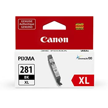Canon CLI-281XL Black Ink Tank, Compatible to TR8520,TR7520,TS9120,TS8120 and TS6120 Printer