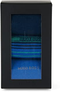 Gemelolandia, Pack Calcetines Hugo Boss 3 pares Cotton blend socks in a triple pack: 'S 3P Design Box' by BOSS